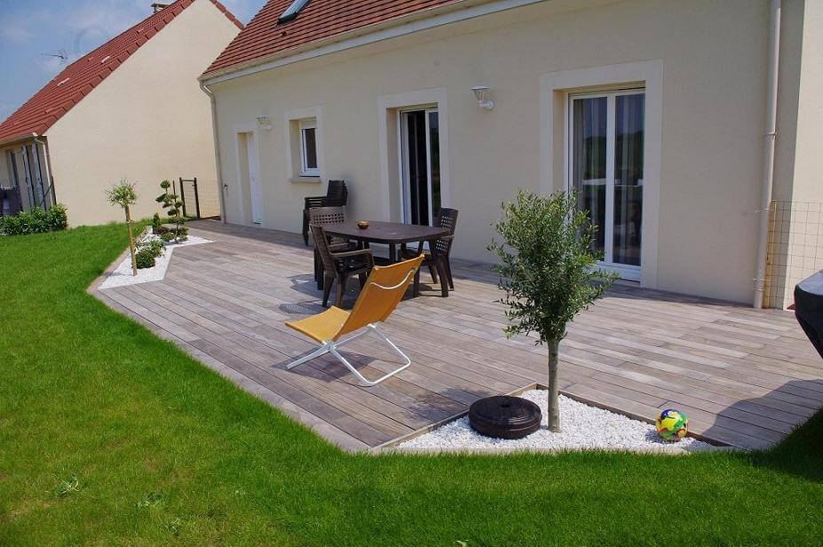 Skab den perfekte terrasse - Photos terrasse bois ...